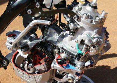 KTM 300 EXC TPI - фото двигателя