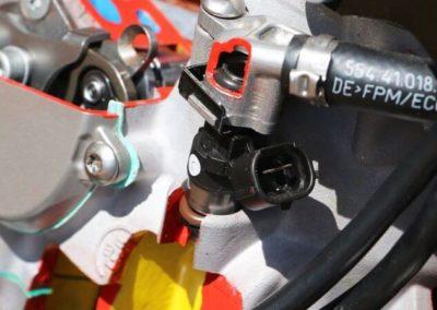 KTM 300 EXC TPI - топливная система