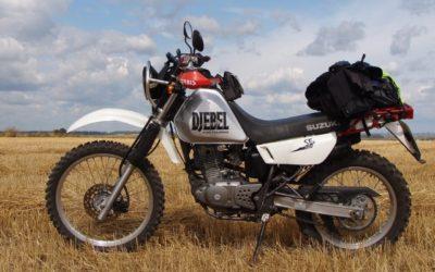 Suzuki Djebel 250 XC — краткий обзор модели