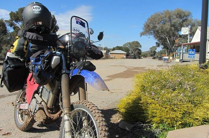 На Ямаха ТТР по Австралии