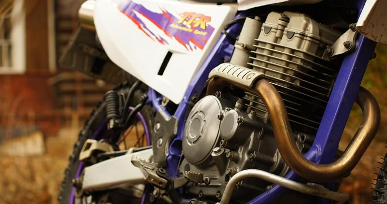 Ямаха ТТР 250 вид двигателя