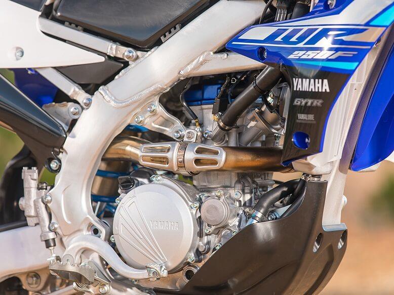 2020_Yamaha WR250F - фото нового двигателя