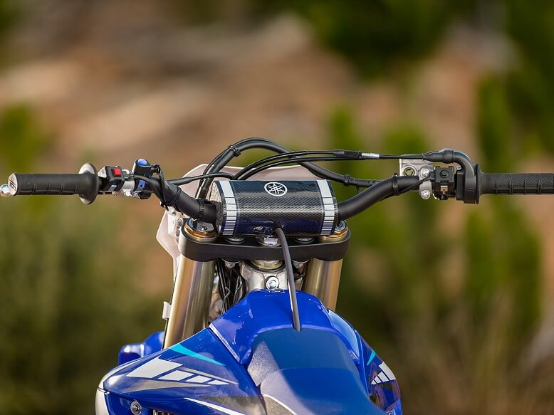 2020_Yamaha WR250F руль с переключателем режима работы двигателя