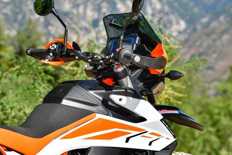 KTM 790 Adventure R - дополнительные функции