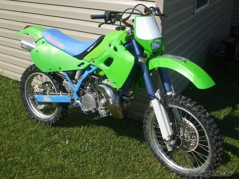Kawasaki KDX 200 - от 80 тыс