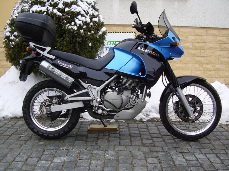 Эндуро турист - Кawasaki KLE500 2003 г.в.