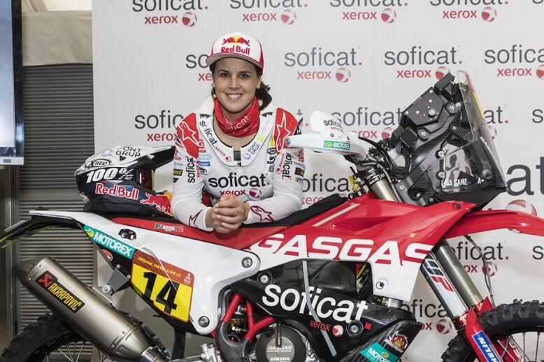 Laia Sanz демонстрирует отличные результаты на четвертом этапе ралли Дакар 2020