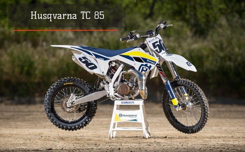 Кроссовый мотоцикл Husqvarna TC 85 - 2017
