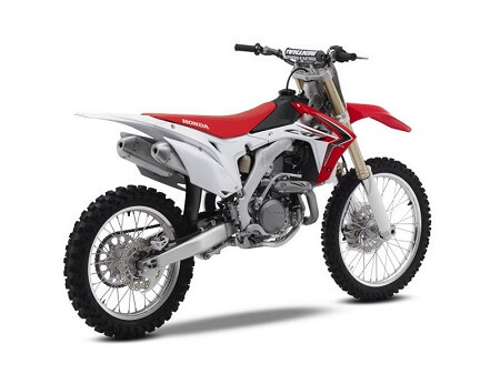 Honda-CRF450-2017 года вид с права