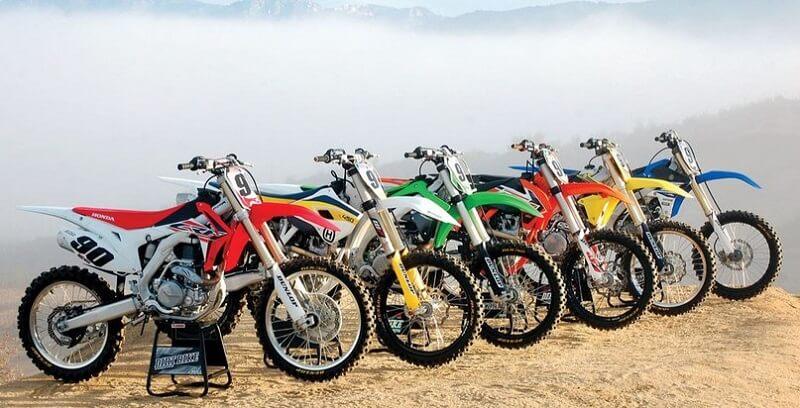 Выбор внедорожного мотоцикла