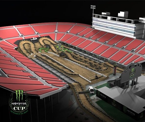 Трасса Monster Energy Cup