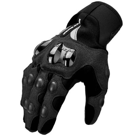 Черные перчатки для мотокросса