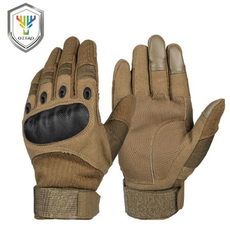 Серые перчатки для мотокросса Ozero