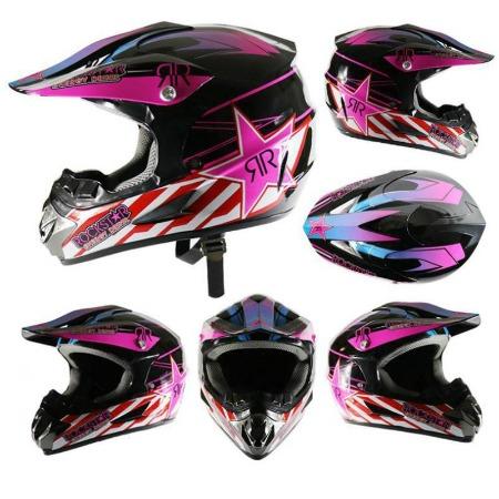Шлем Китайский для мотокросса 4