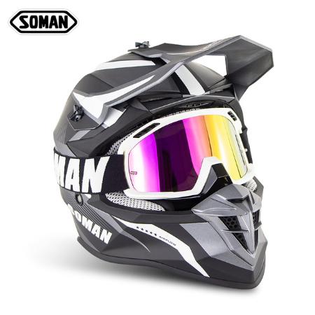 Шлем для мотокросса Soman 5