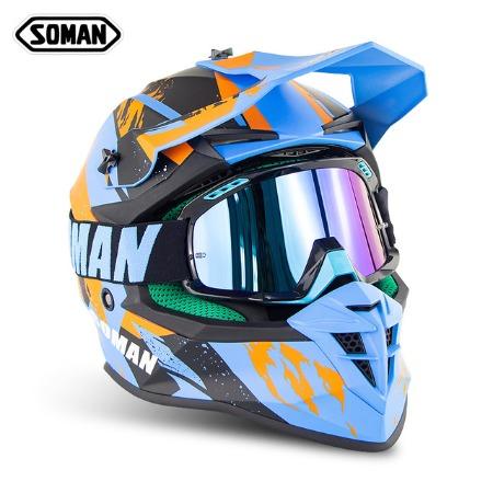Шлем для мотокросса Soman 4