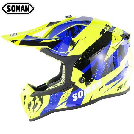 Шлем для мотокросса Soman 3