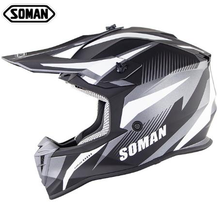 Шлем для мотокросса Soman 2