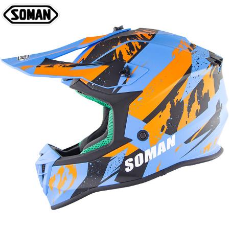 Шлем для мотокросса Soman 1